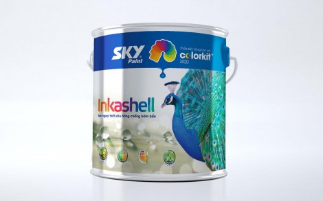 Sky Paint Package Design